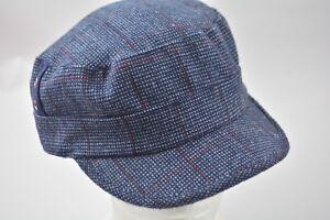 77b462b469c ... Accessories · Women s Accessories · Hats · D Y David   Young Elastafit  Hat Military Cadet Blue Plaid Cap Checkered