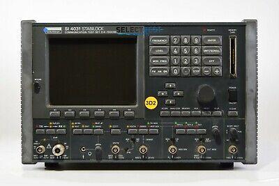 Wavetek Stabilock Si4031 Communication Test Set 1 Ghz Service Monitor Ref G