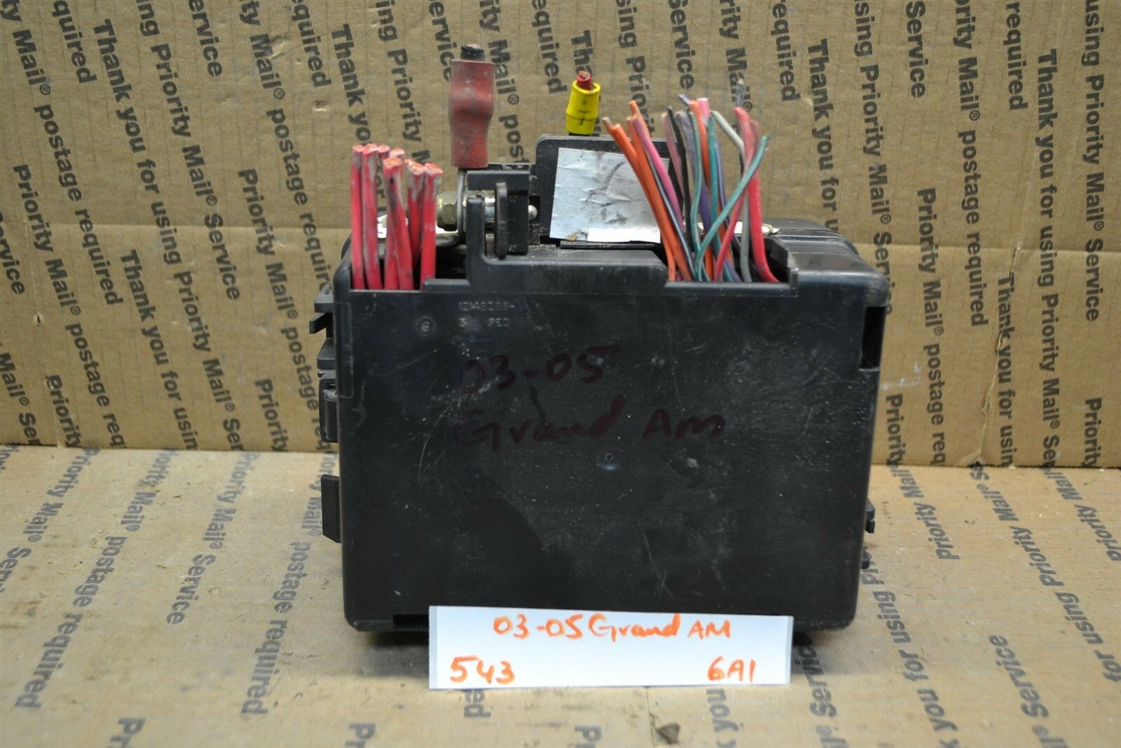 Used Pontiac Grand Am Computers Chips Cruise Control And Related 1998 Prix Gt Fuse Box 2003 2005 Junction Oem 12146286 Module 543 6a1
