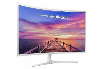 """SAMSUNG 32"""" Curved CF 32F395 LED Monitor  - MINT!!  FREE FAST SHIPPING!!"""