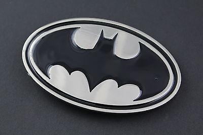 CHEAP BATMAN BLACK SILVER FLAT METAL BELT BUCKLE DC COMICS MOVIE