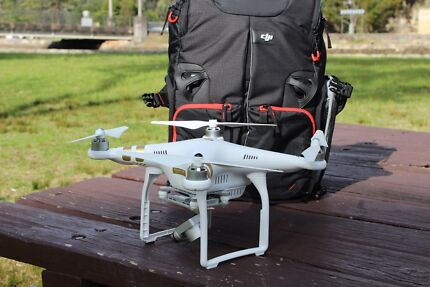 DJI Phantom 3 Professional 4K Camera, Backpack & Extra Battery Hornsby Hornsby Area Preview