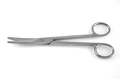 3 Mayo Scissors 6.75 Curved Blades Round Points Surgical Dental Instruments