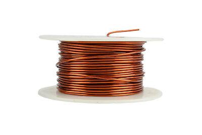 Temco Magnet Wire 17 Awg Gauge Enameled Copper 200c 8oz 79ft Coil Winding