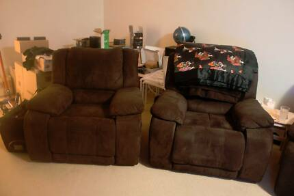 3 Seater + 2 Single Seater Recliner Set Lane Cove North Lane Cove Area Preview