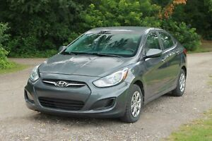 2013 Hyundai Accent L ONLY 50K   CERTIFIED