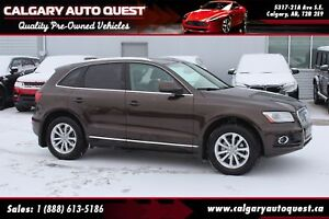 2014 Audi Q5 2.0 Progressiv AWD/NAVI/LEATHER/PANO-ROOF