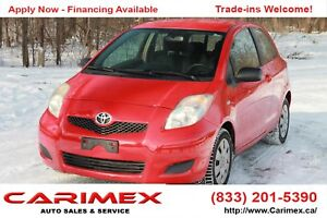 2009 Toyota Yaris CE ONLY 107K    AC   CERTIFIED