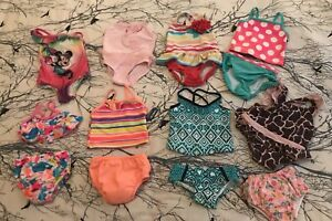 Baby girl bathing suits