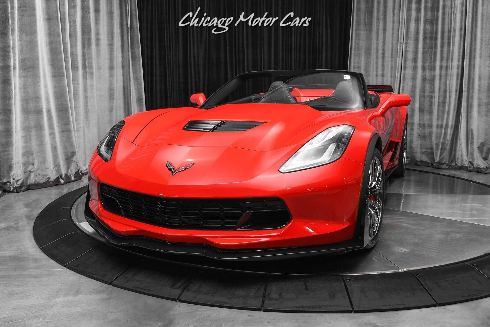 2015 Red Chevrolet Corvette Z06 2LZ | C7 Corvette Photo 2