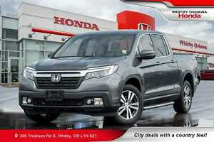 2017 Honda Ridgeline EX-L | Power Moonroof, Rearview Camera, Hea
