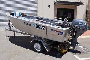 Quintrex 4.2 Dory Tinny in great condition