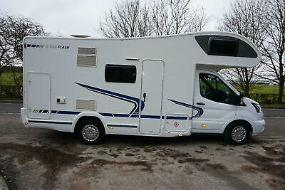 FORD CHAUSSON 2015 MOTORHOME CAMPERVAN 6 BERTH ONE OWNER