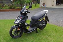 Selling new Kymco Super 8 125cc, not registred, 5km on tacho Gloucester Gloucester Area Preview
