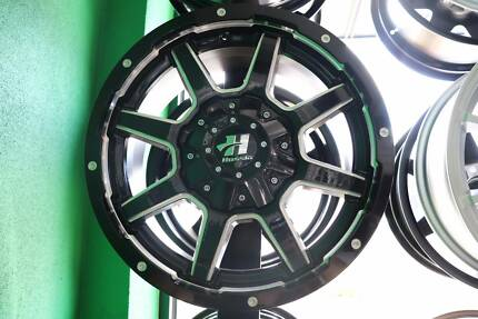 "17"" HUSSLA WHEEL AND TYRE PACKAGE!"