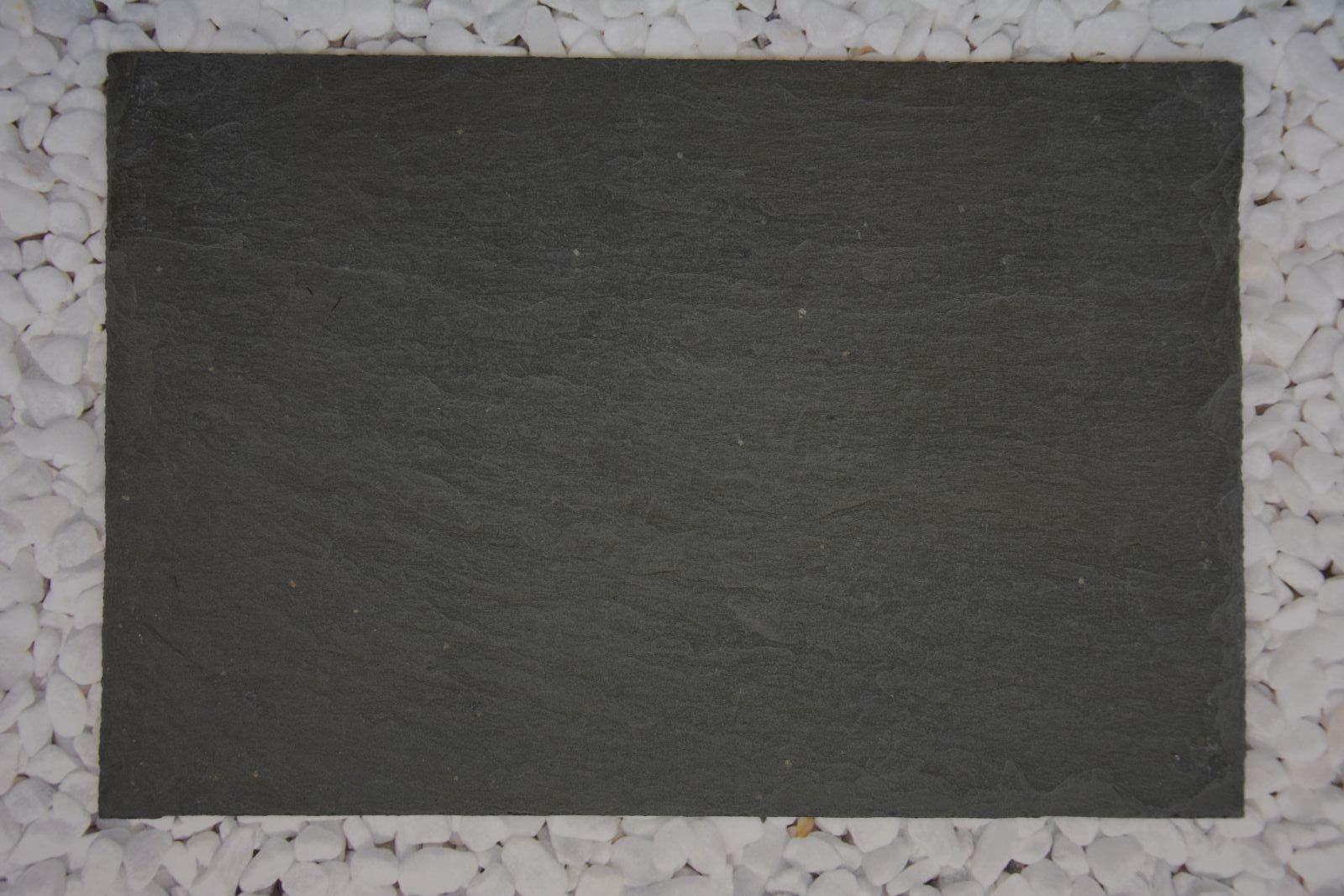 Schiefer Tafel Bruchkante Deko Platte DIY Tablett Natur Tür Schild Tisch Basteln