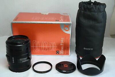 Sony 35mm f1.4G SAL35F14G  A mount full frame