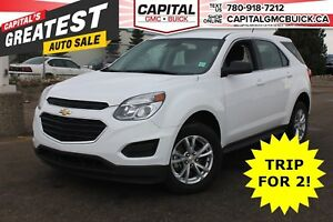 2017 Chevrolet Equinox LS AWD | REAR CAMERA | BLUETOOTH | 38K KM
