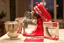 KitchenAid Artisan Stand Mixer with accessories worth > $1250 RRP Haberfield Ashfield Area Preview