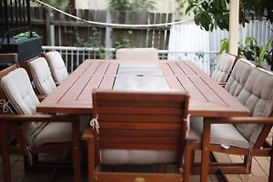 Outdoor Dining Table Regents Park Auburn Area Preview