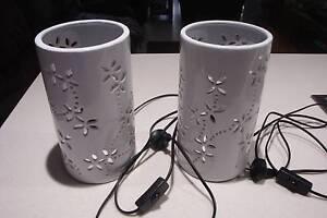 WHITE ELECTRIC LAMPS Mandurah Mandurah Area Preview