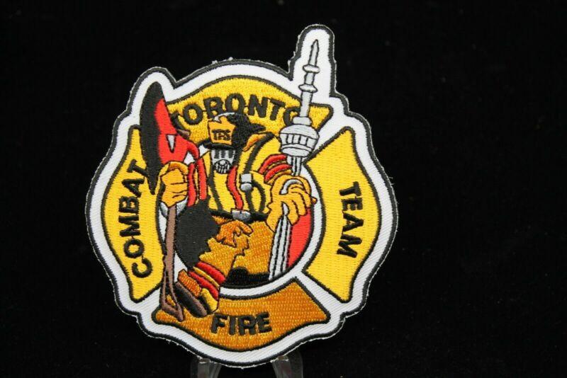 Canadian Toronto Fire Combat Fire Team Patch