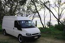 Ford Transit 2.4 TD 180 W solar powert, fully equipped, toilet, Enoggera Brisbane North West Preview