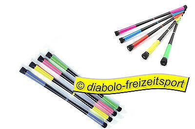 Fluo Colors Devilstick MB gelb + Stäbe