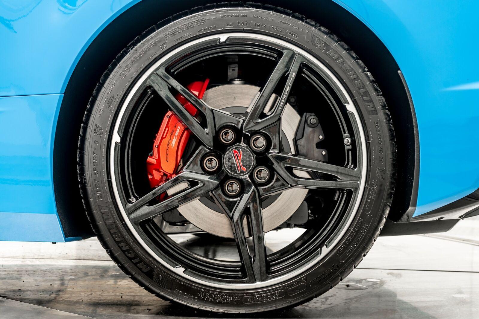 2021 Blue Chevrolet Corvette  3LT   C7 Corvette Photo 10