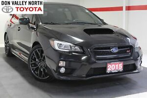 2015 Subaru WRX STI Sport-tech Package