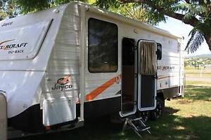 AS NEW 2013 JAYCO STARCRAFT OUTBACK OFF-ROAD CARAVAN Boonah Ipswich South Preview