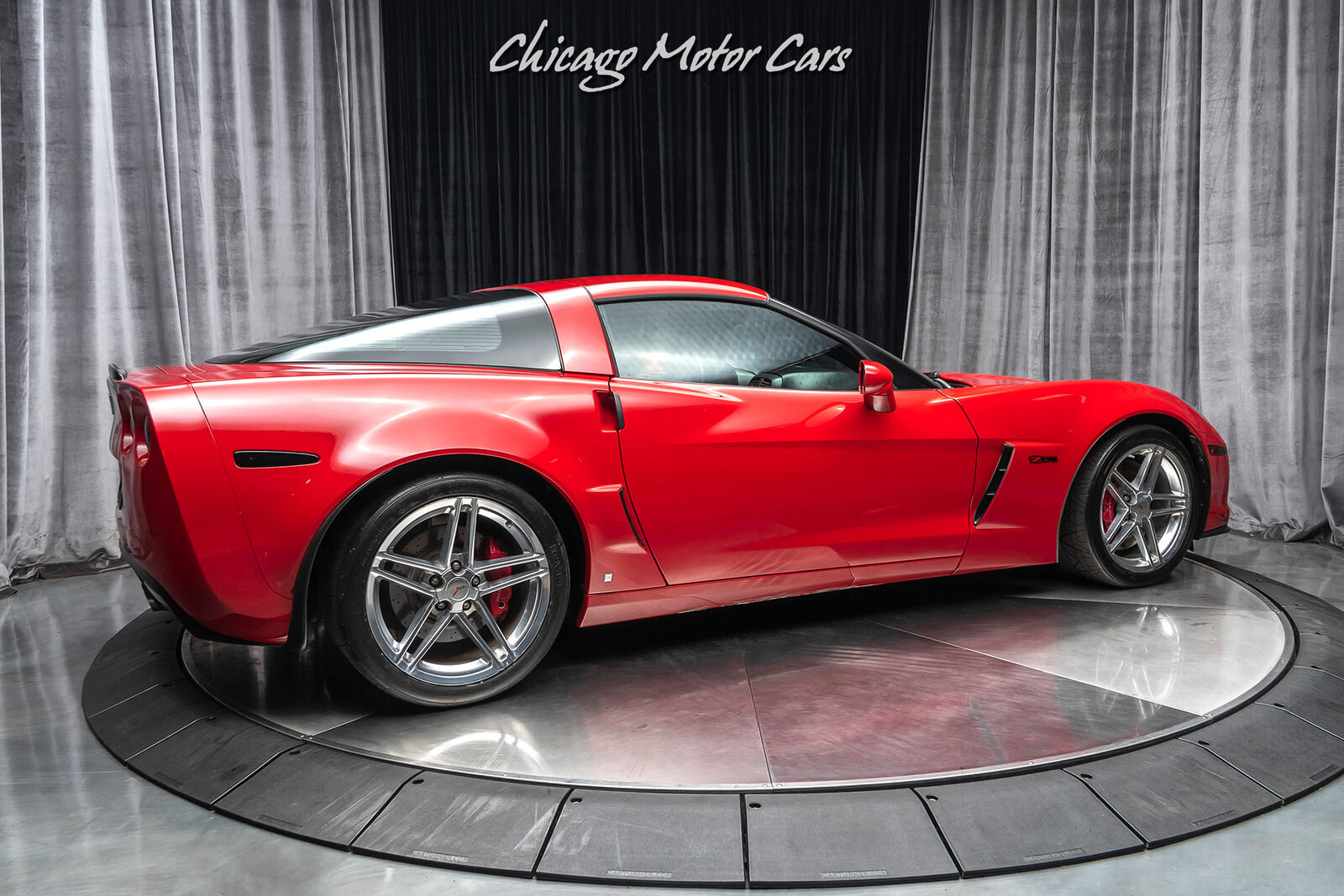 2006 Red Chevrolet Corvette Z06  | C6 Corvette Photo 5
