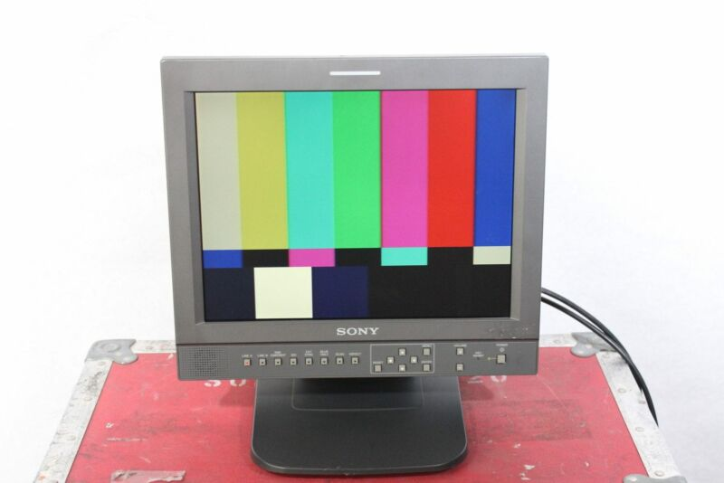 "Sony LMD-1420 14"" Professional Series LCD Monitor w/ Case (1f)"