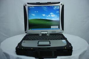 Tablet Laptop Panasonic Toughbook CF-19 MK1 Touch 80GB Windows XP NO STYLUS
