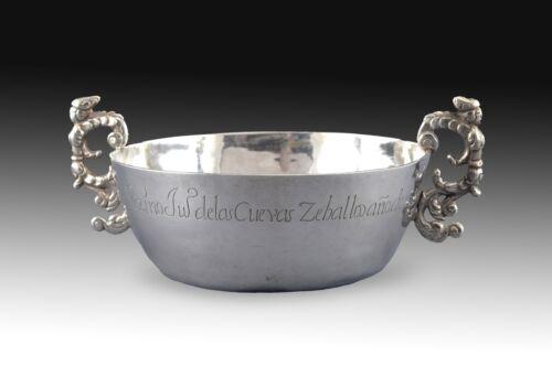 """Silver Tastevin, """"Tembladera"""", Northern Spain, Cantabria, 1739"""