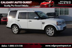 2011 Land Rover LR4 AWD/NAVI/LEATHER/3RD ROW/SUNROOF
