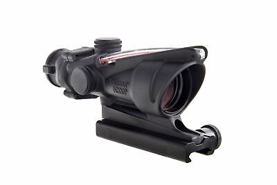 Trijicon ACOG 4x32 Illuminated Riflescope, Red Chevron BAC Reticle, TA51: 100215