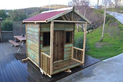 """THE EDEN"" TREATED PINE CUBBY HOUSE Hobart CBD Hobart City Preview"