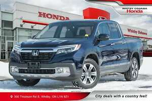 2019 Honda Ridgeline Touring | Power Moonroof, Heated Seats and