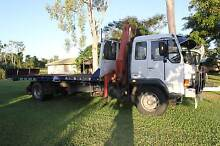 TILT TRAY AND CRANE TRUCK FOR HIRE HIRE HIRE Airlie Beach Whitsundays Area Preview