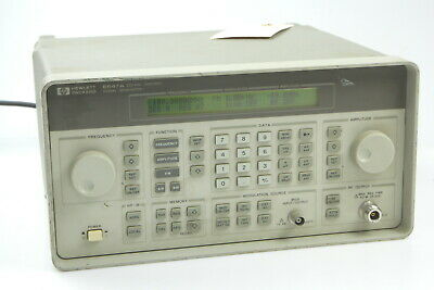 Hp 8647a Synthesized Signal Generator 250 Khz-1000 Mhz H03 5