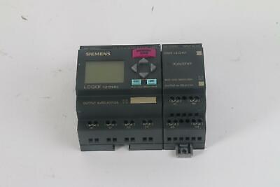 Siemens Logo 6ed1052-1md00-0ba6 Controller W6ed1055-1mb00-0ba1 Expansion Module