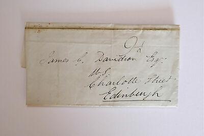 Entire Letter from Duncan Campbell, Rockhill, to James Davidson, Edinburgh. 1830