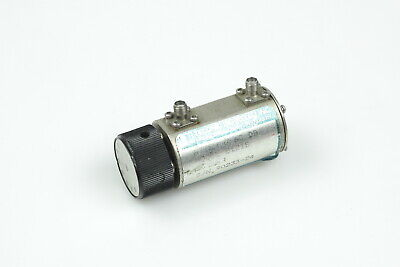 Telonic 8121s Dc To 2 Ghz 0 To 60db 50ohm Variable Rotary Attenuator 2