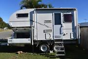2012 Slide On Camper on 2014 Tandem Axle Trailer Erina Gosford Area Preview