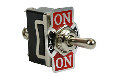 (TEMCo Heavy Duty 20A 125V ON-OFF-ON SPDT 3 Terminal Toggle Switch)