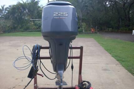 Yamaha 225 hp four stroke outboard