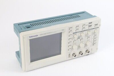 Tektronix Tds 210 Two Channel Digital Real Time Oscilloscope 60mhz 1gss