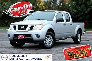 2016 Nissan Frontier SV V6 4.0L 4X4 CREW PWR GRP BLUETOOTH ALLOY