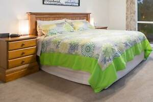 Bed Head - Solid Timber - Freestanding - suit Queen Size Bed